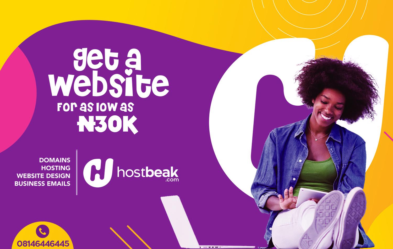 Get a website from HostBeak